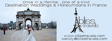 Bliss Travels - Weddings and Honeymoons in France