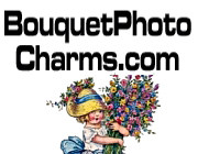 Bouquet Photo Charms