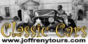 Joffreny Tours - Classic Wedding Cars in France
