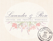 Lavender and Rose - French Riviera Wedding Planning