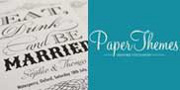 Paper Themes - Wedding Stationery