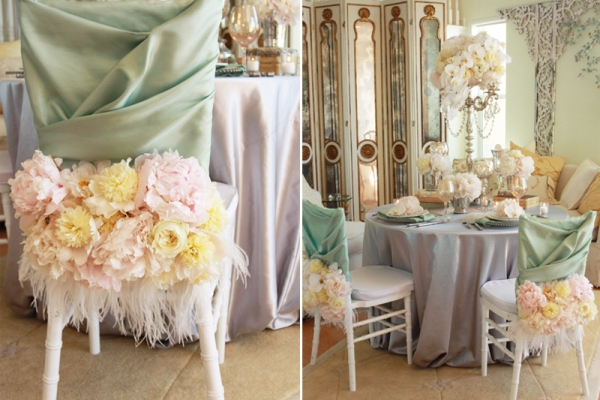 French shabby chic style part 2 table decoration - French country table centerpieces ...