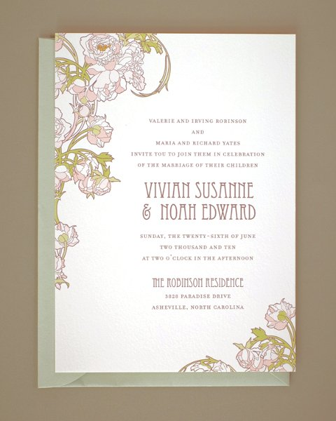 Hello Lucky Wedding Stationery