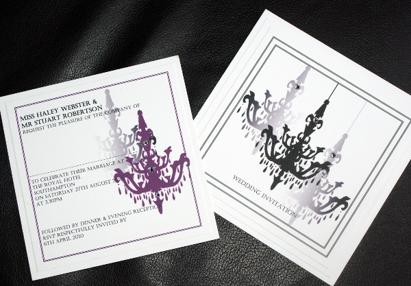 Invitingly Different Wedding Stationery