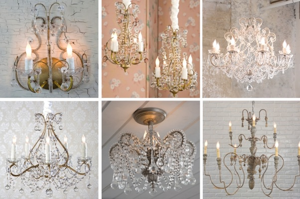 french shabby chic style part 3 lighting
