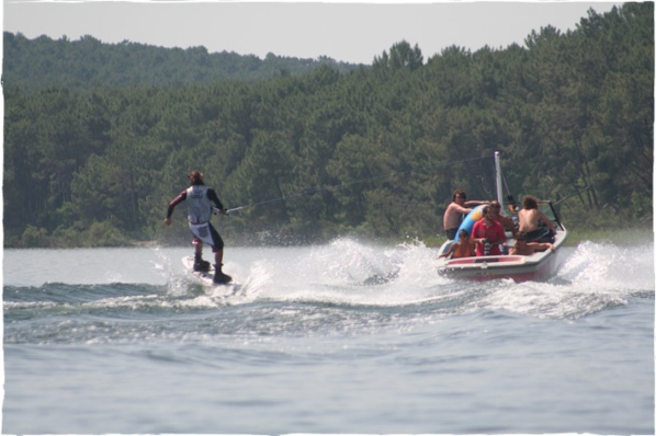 wake boarding - stag do france