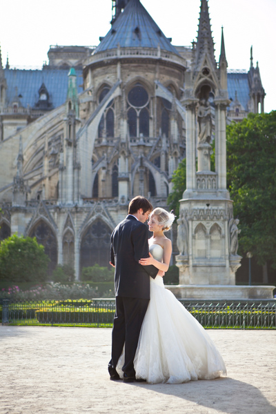 real life wedding paris