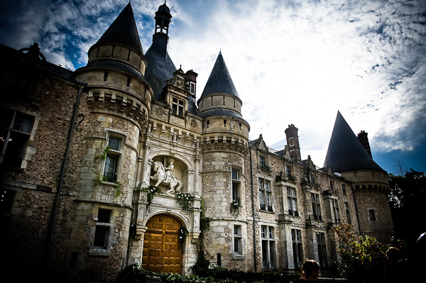 Chateau d'Esclimont France, wedding castle france