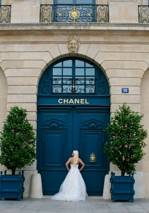 chanel trash the dress