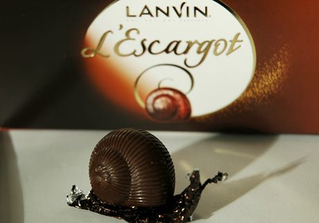 chocolate escargot/ snails
