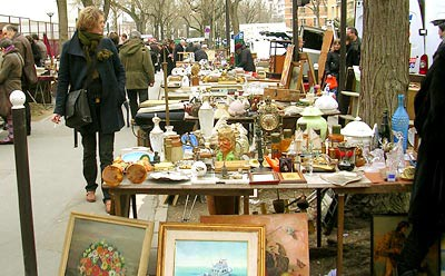paris flee market