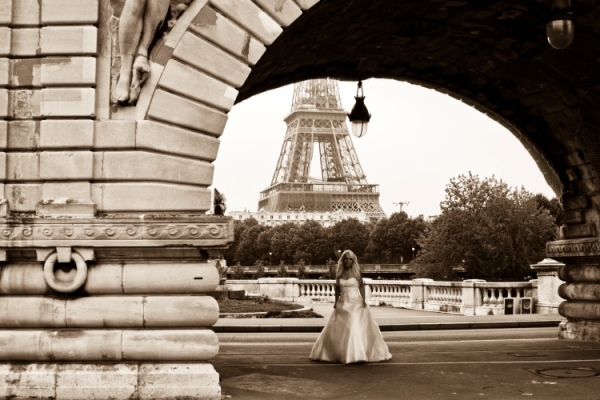 paris trash the dress