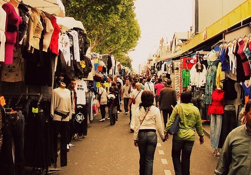 French Clothes Market