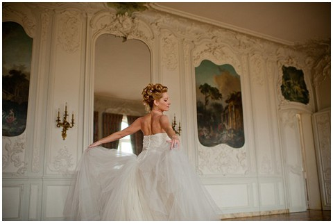 French Cau Wedding Bride Vera Marie Antoite Photo Shoot