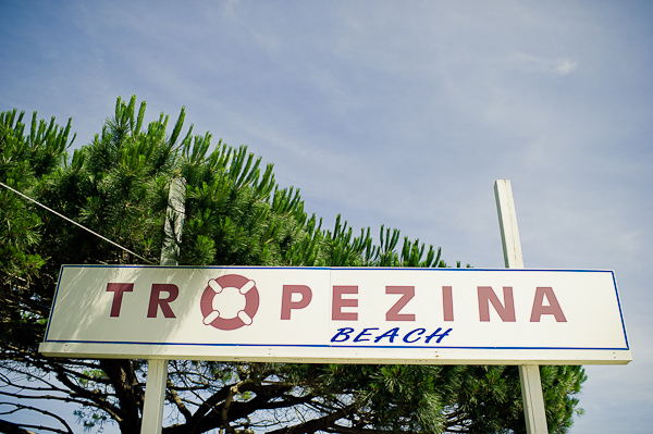 Wedding Saint Tropez, Tropezina Beach  © Janis Ratnieks Photography #france