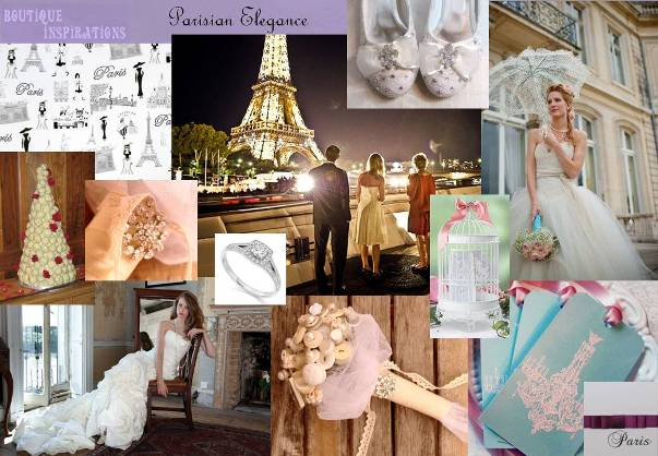 parisian elegane inspiration board