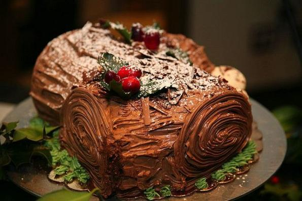 yule log picture