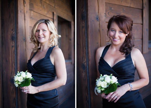 chamonix bridesmaids