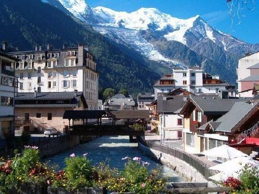 chamonix town
