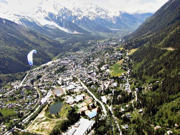 chamonix valley