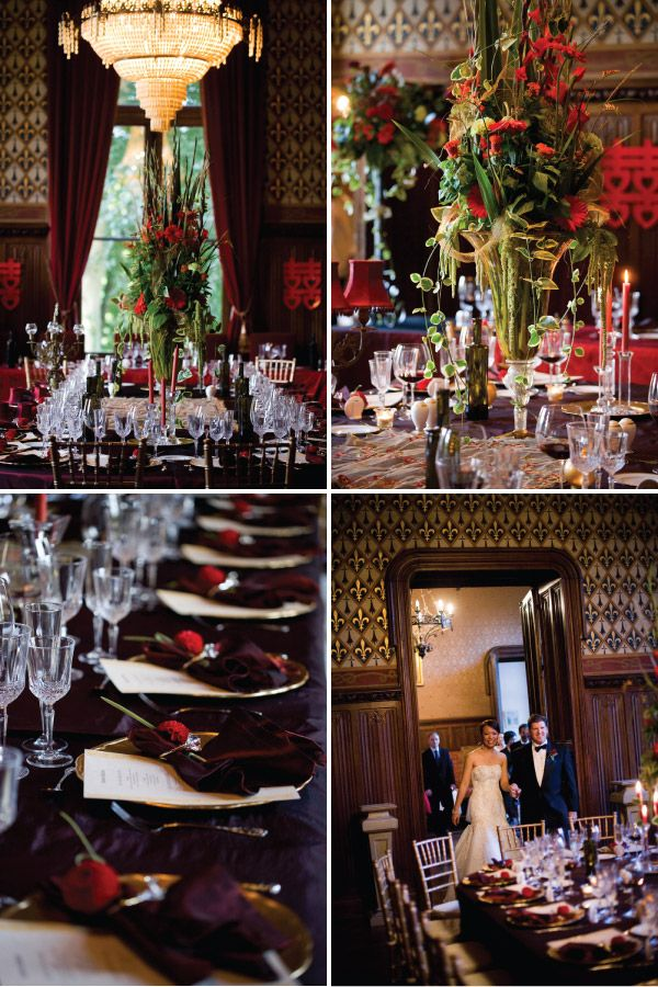 chateau challain wedding reception