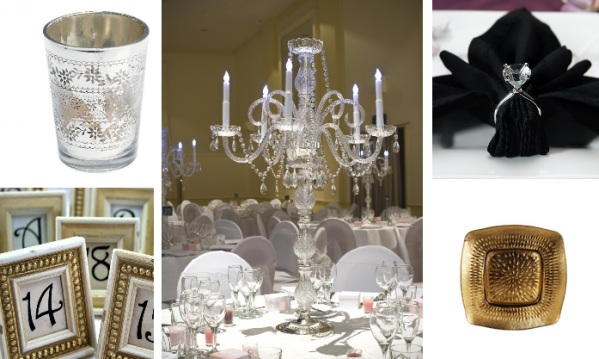 chateau wedding accessories