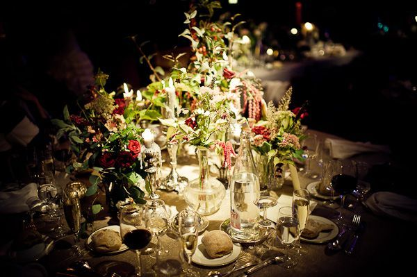 chic wedding flowers