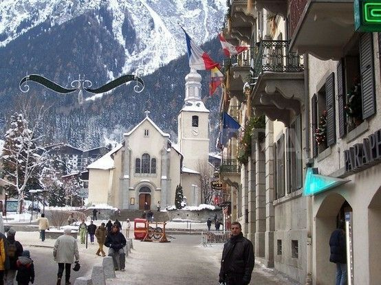 christmas in chamonix