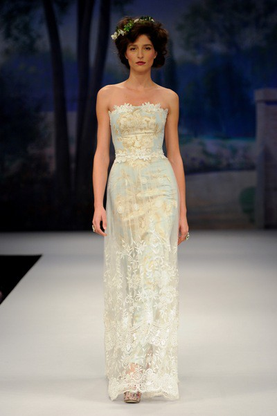claire pettibone blue wedding dress