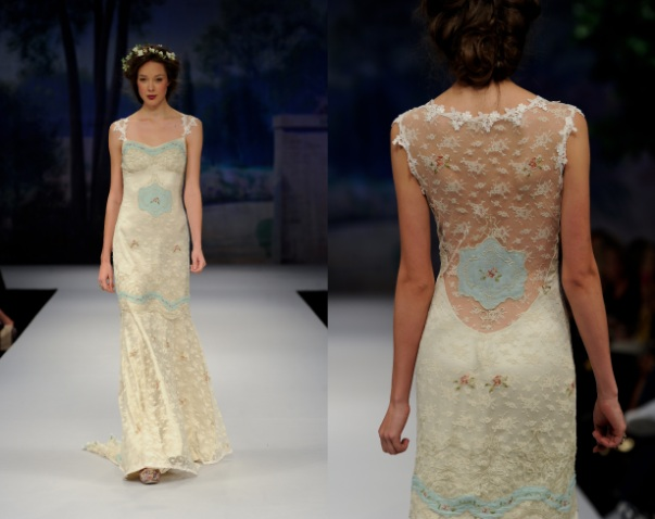 claire pettibone pale blue wedding dress