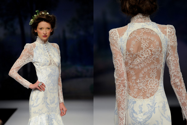 claire pettibone french blue wedding dress