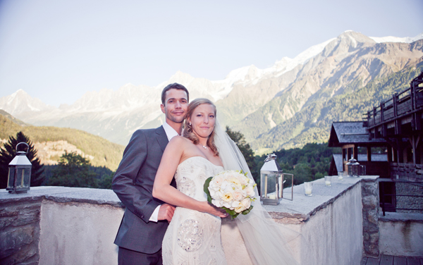 getting married in chamonix