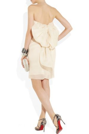 lanvin short white dress