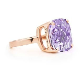 lavender amethyst ring from Tiffany & Co