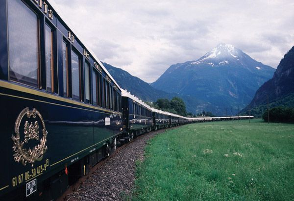 orient express honeymoon