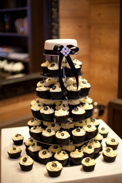 wedding cupcakes chamonix