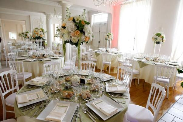 white french wedding design