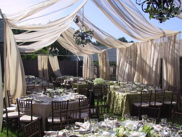 garden chic wedding