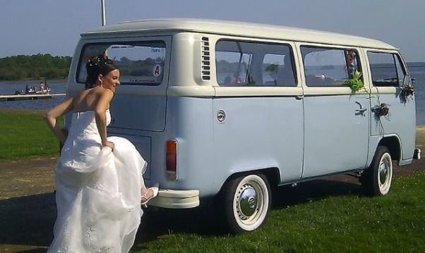 quirky wedding transport France