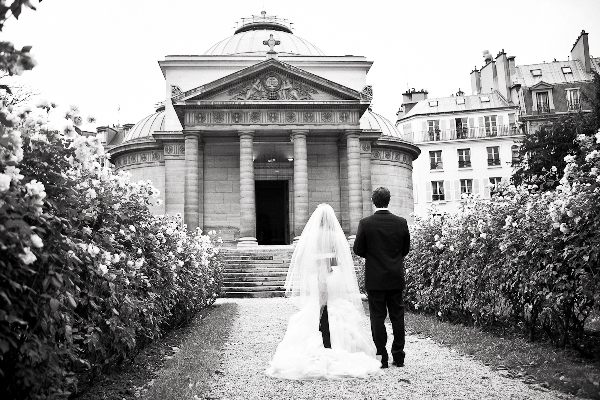 Chapelle Expiatoire Paris wedding