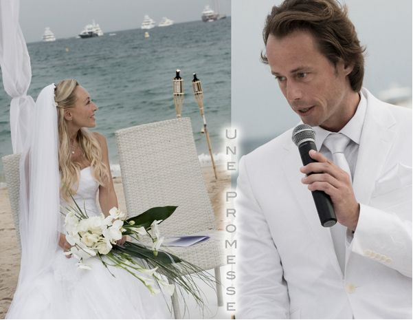 cannes beach wedding