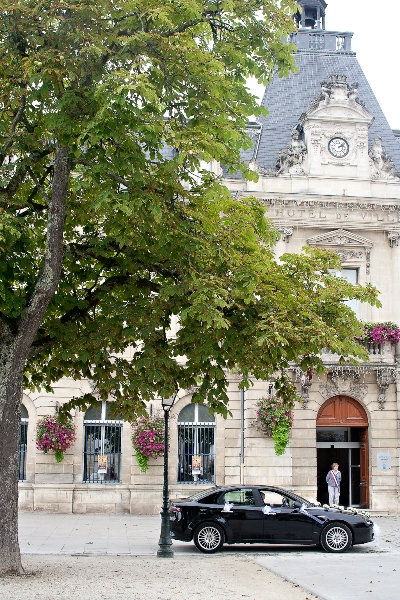 french town hall wedding