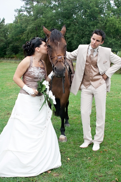 mariage horse