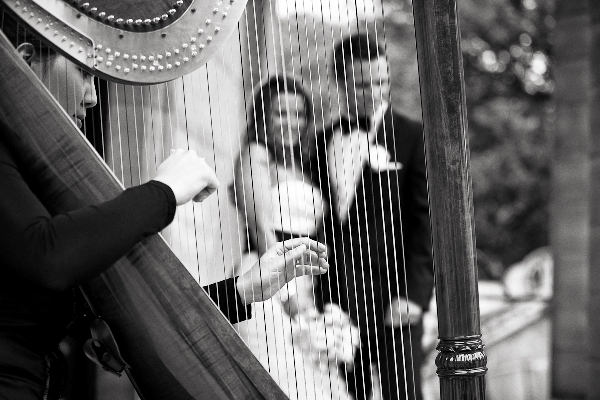 wedding harp Paris