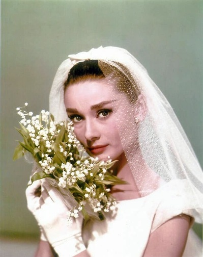 audrey hepburn lily of the valley