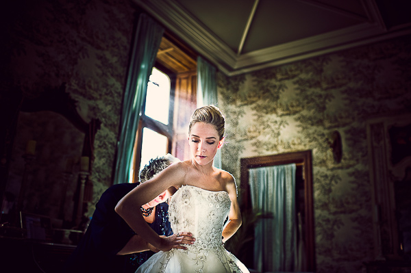 bride chateau challain
