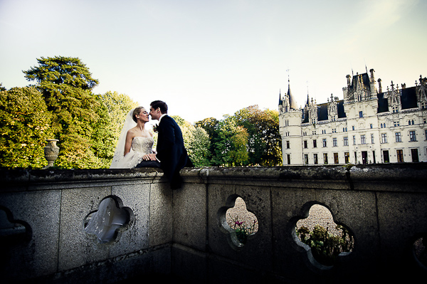 wedding at Chateau Challain