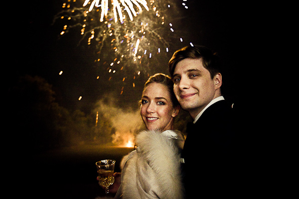 french fireworks wedding