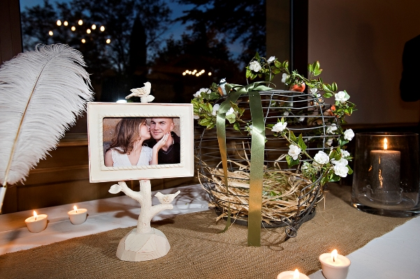 shabby chic wedding decoration