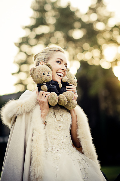 teddybear wedding
